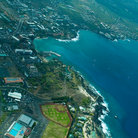 Picture - An aerial view over Kailua-Kona on the Big Island.