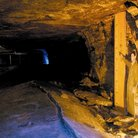 Picture - An underground scene at the Kansas Underground Salt Museum in Hutchinson.