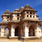 Picture - Lotus mahal of Zanana Enclosure at Hampi, Karnataka.