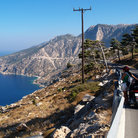 Picture - A view over the Karpathos coast.