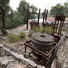 Picture - Ruins of old Skala that was hit by the 1953 earthquake.