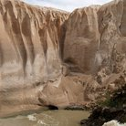 Picture - Water and rock formations of Katmai National Park.