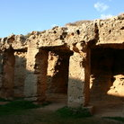 Picture - Tombs of the Kings at Paphos.