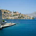 Picture - Tower on the waterfront of Simi Island.