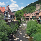 Picture - The tourist center of Kayserberg.
