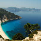 Picture - View of the beach at Cephalonia.