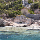 Picture - Ruins along the shore of the island of Kekova.