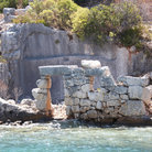Picture - Roman ruins on Kekova.