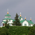 Picture - Russian Orthodox Church in Ninilchik.
