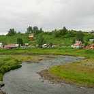 Picture - Ninilchik, Russian Village, Kenai Peninsula.