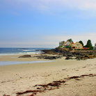 Picture - The beach at Kennebunk.