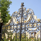 Picture - Gate of Kensington Palace in London.