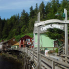 Picture - Creek Street in Ketchikan.