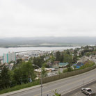 Picture - Overview of Ketchikan and surrouding water.