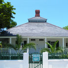 Picture - Lighthouse keepers quarters in Key West.