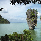 "Picture - ""James Bond Island"", used in a James Bond film."