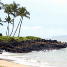 Picture - A tropical beach near Kihei, Hawaii.