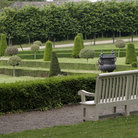 Picture - Gardens and bench in Kilmainham.
