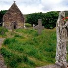 Picture - An old stone church in Kilmalkedar.
