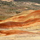 Picture - The painted hills of John Day Fossil Beds National Monument.