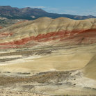 Picture - Hills at John Day Fossil Beds National Monument.