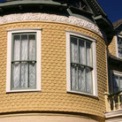 Picture - Victorian house in the King William Historic District in San Antonio.