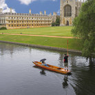 Picture - King's College in Cambridge.