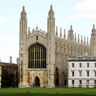 Picture - Fellow's Building and chapel of King's College in Cambridge.