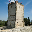Picture - Medieval stone tower in Nagyvazsony.