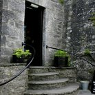 Picture - Stairway at Dunguaire Castle.