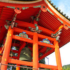 Picture - Bell tower at the Kiyomizudera Temple in Kyoto.