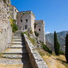 Picture - Ruins of the old fort at Klis.