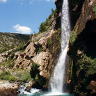 Picture - A waterfall near Knin.