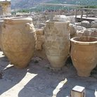 Picture - Jars at the site of Knossos.