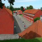 Picture - View over the Kastellet in Copenhagen.