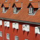Picture - Detail of the Kastellet in Copenhagen.
