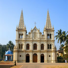 Picture - A Catholic church in Cochin.