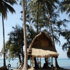 Picture - Thatch beach hut on Koh Chang.