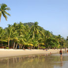 Picture - Beautiful beach on Koh Chang Island.