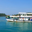 Picture - Tourist boat near Bang Bao village on Koh Chang.
