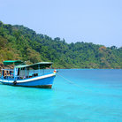 Picture - Turquoise water off the archipelago of Koh Chang.