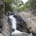 Picture - Waterfalls on Ko Pha-Ngan island.