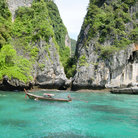 Picture - Scenery around Koh Phi Phi near Phuket.