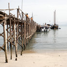 Picture - Pier at Phetcharat Marina on the coast of Koh Samui.