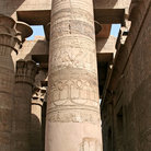 Picture - Column at the Temple of Kom Ombo.