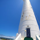Picture - The Slangkop Lighthouse at Kommetjie.