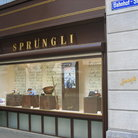 Picture - Famous Chocolate store Sprungli on Bahnofstrasse in Zurich.