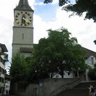 Picture - St Perer's Church with the largest clock face in the world in Zurich.