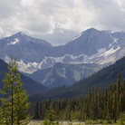 Picture - Canadian Rocky Mountains of Kootenay National Park.
