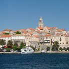 Picture - The fortified city of Korcula.